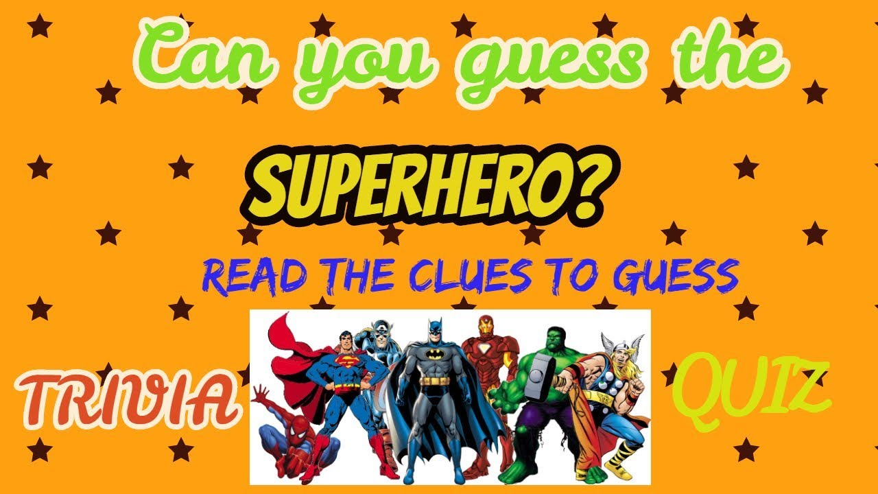 Which Superhero Are You?